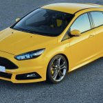 Assurance auto temporaire, Ford jaune, Assurance automobile temporaire