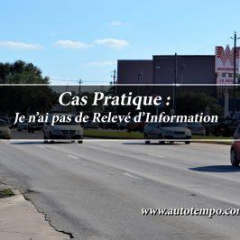 Je n'ai pas de Relevé d'Information, assurance, France, Europe