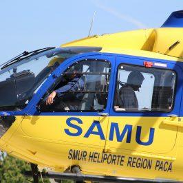 Hélicoptère SAMU, Coronavirus,
